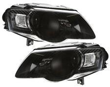 Ersatz Scheinwerfer schwarz VW PASSAT 3C B6 05-10 Limousine und Variant Klarglas