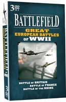 Battlefield: Great European Battles of WWII [New DVD] Slim Pack