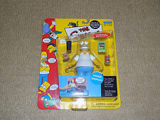 PLAYMATES, THE SIMPSONS, HOMER SIMPSON, ACTION FIGURE, SERIES 1