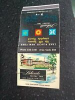 Vintage Matchbook D15 Collectible Ephemera lake placid New York