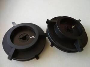 NEW! Pair of high quality nab hub adapters + Free gift  for Revox Akai etc