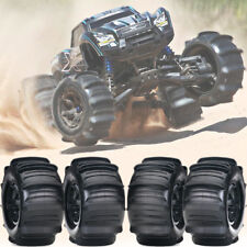 Set of 4 Traxxas X-MAXX Sand Paddle Tires & Wheels for XMAXX TRA7773  *BRAAAAAP*