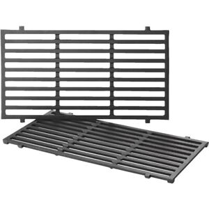 """Weber Cast Iron Cooking Grate 17.5"""" x 10.2"""" - Set of 2"""