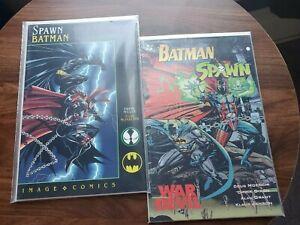 Spawn: Batman / Batman Spawn War Devil (1994 Image / DC) VF, Miller, McFarlane
