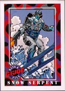 1991 Impel G.I. Joe # 35 Snow-Serpent