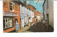 Postcard. Staithe Street. Wells next the Sea. Vouge hair Fashion shop.