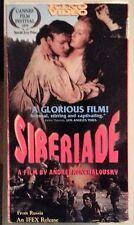 vladimir samoilov   SIBERIADE    VHS VIDEOTAPE 2 tape set