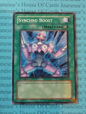 Synchro Boost 5DS1-EN020 Common 3 x Yu-Gi-Oh Card 1st Edition English Mint New