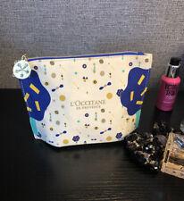 L'Occitane En Provence Makeup Cosmetics Bag, Travel Toiletry Pouch, Brand NEW!
