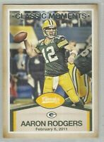 Aaron Rodgers Green Bay Packers 2016 Classics CLASSIC MOMENTS