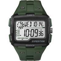 Orologio TIMEX mod. GRID SHOCK ref. TW4B02600 Uomo in gomma verde digitale Light