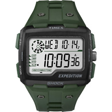 Timex Uhren Mod. Grid shock ref. TW4B02600 Herren Damen Gummi grün digital light