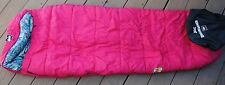 REI Kids Kindercone Sleeping Bag Girls Pink w/ Stuff Sack