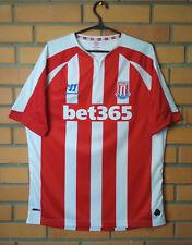Stoke Home football shirt 2014 - 2015 size L soccer jersey Warrior