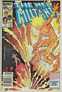 NEW MUTANTS#11 VF/NM 1984 MARVEL COMICS