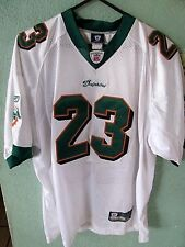 MIAMI DOLPHINS RONNIE BROWN JERSEY SIZE ADULT 50 SEWN