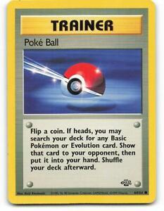 64/64 | Poke Ball | Jungle | Pokemon Card | Near Mint