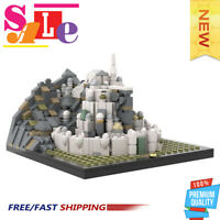 MOC-30968 Micro Minas Tirith 748 PCS Good Quality Bricks Building Blocks Toys