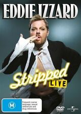 EDDIE IZZARD - STRIPPED LIVE - Funny Stand-Up Comedy DVD (NEW SEALED) Reg 2 & 4