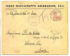 NED INDIE S.M.N.1927-3-25 -S.S.GROTIUS= AAN PASSAGIER- POSTAGE DUE - SUEZ - F/VF