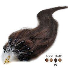 50-100-150-200 Extensions De Cheveux Pose A Froid Naturels Remy 53-60CM 0,5G/1G