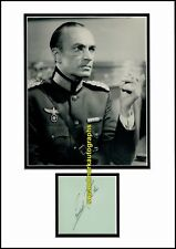 Conrad Veidt  The Man Who Laughs Major Strasser Casablanca Autograph UACC RD 96