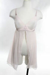 La Perla Studio Sheer Chemise  Size: Large Color: Light Pink 0013076 - 22