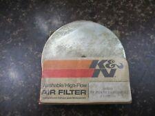 Vintage NOS K&N Air Filter - SU-35/79 - 1979 Suzuki RM100 & RM125 - RM 100 125