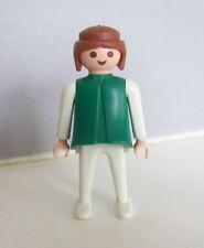 PLAYMOBIL (3405) FEMME VINTAGE - Femme Vert & Blanc