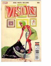 VISION # 3 2016 VF/NM VIV VIN VIRGINIA MIKE DEL MUNDO COVER KING WALTA