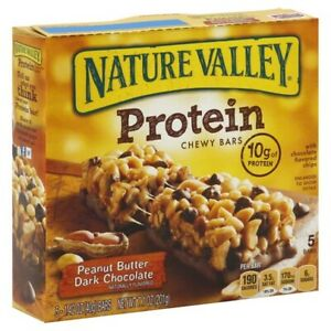 Nature Valley Protein Chewy Bars Peanut Butter Dark Chocolate