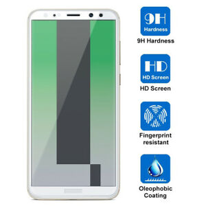 9H HD Tempered Glass Screen Protector 5D Curved Film for Huawei Mate 10/P10 Lite
