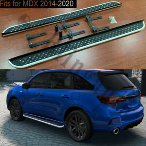 Fits for Acura MDX 2014-2020 running board side step nerf bars pedals 2PCS chair