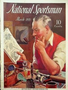 Vintage National Sportsman Magazine March 1935 Hunting Fishing Sailfish