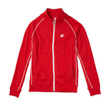 DC Shoes TRACK JACKET Coat CURRENT Trainer ATHLETIC RED Size XL