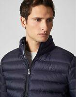 Crew Clothing Lightweight Jacket Dark Navy - Men's Size S, M, L, XL, XXL