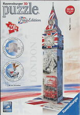 Ravensburger BIG BEN English Flag Edition 3D Jigsaw Puzzle 216 pc