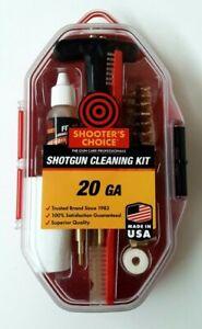 Shooters Choice 20ga Shotgun Cleaning Kit Made In USA