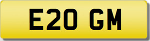 GM INITIALS  Private CHERISHED Registration Number PLATE OGM GIUSEPPE MOWAT