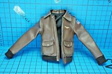 Hot Toys 1:6 MMS522 Captain Marvel Deluxe Ver. Figure- Brown Leather-like Jacket