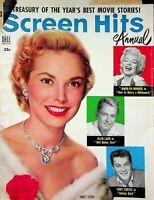 Vtg Original 1954 Screen Hits Annual Hollywood Magazine Janet Leigh Monroe m1310