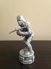 Star Wars CHEWBACCA Figure White Pawn Saga Edition Chess 2005 Replacement Parker