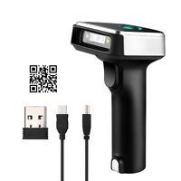 Handheld 2D & QR Wired & 2.4G Wireless Bluetooth Barcode Scanner Bar Code Reader