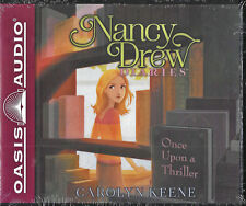 NEW Nancy Drew Diaries Once Upon a Thriller Carolyn Keene Audio Book 4 Volume CD