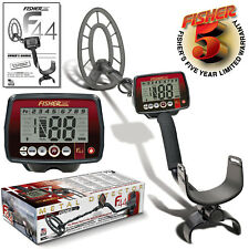 "Fisher F44 Metal Detector with 11"" Concentric Search Coil and 5 Year Warranty"