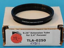 "Tele Vue tla-0250 - 0.25"" extension tube for 2.4"" focuser"