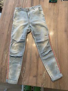 Maryley Jeans Gr. S mit Seitl. Streifen