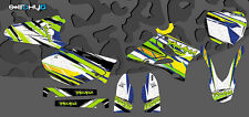 KIT ADESIVI GRAFICHE BRUSHED YAMAHA YZ 125 250 2005 2006 2007 DECALS DEKOR