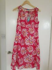 BNWT John Lewis cotton Chrissie sun dress with tie size S (size guide 10)
