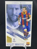 2020-21 Topps UEFA Soccer Best of the Best Assist Makers Lionel Messi Barcelona